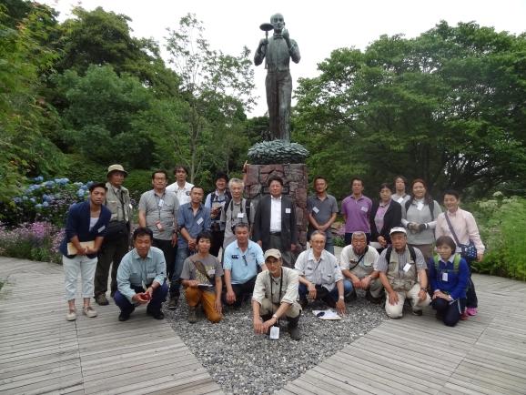 調査・研究委員写真2牧野植物園平成27年国内研修